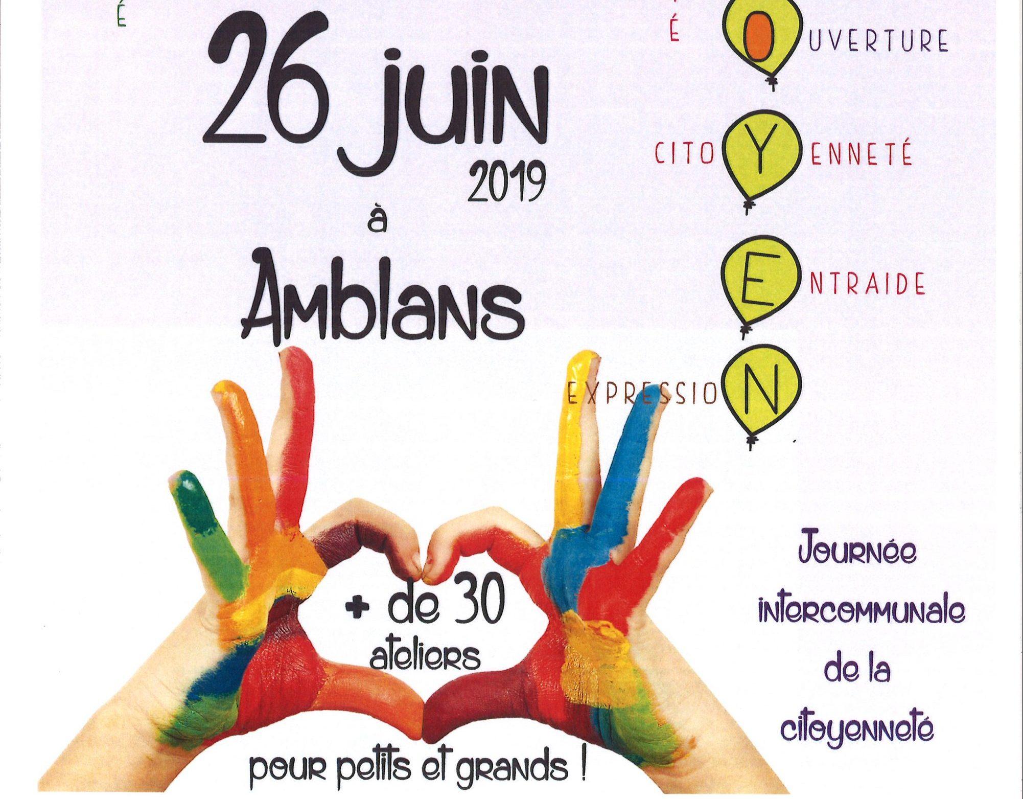 Mercredi Citoyen à Amblans