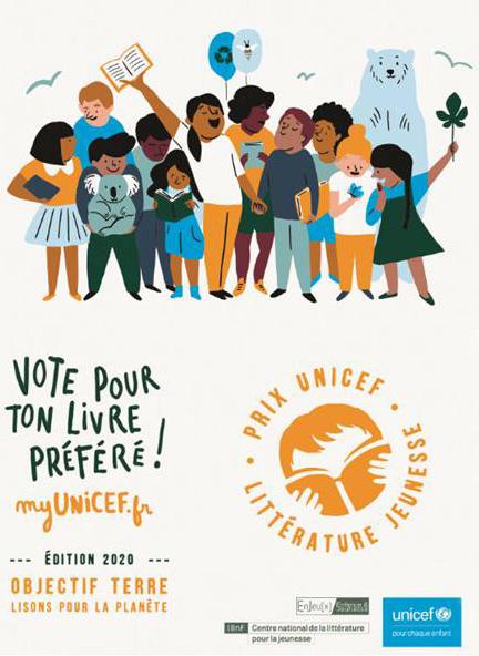 Prix UNICEF Littérature Jeunesse 2020