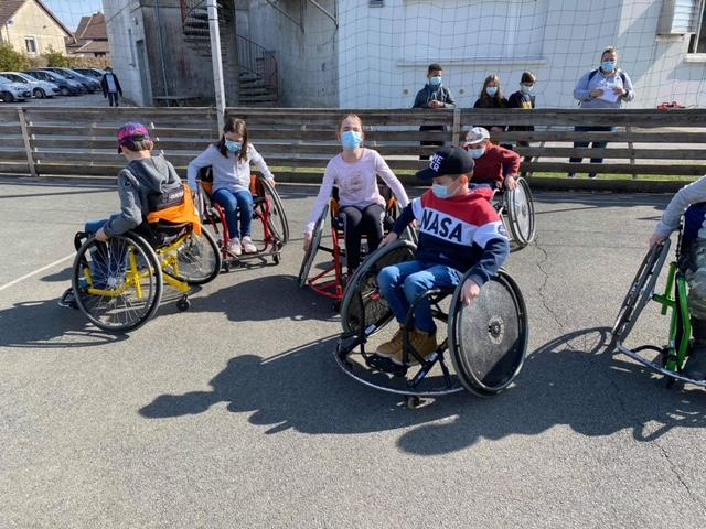 Journée sensibilisation au handicap à Danjoutin