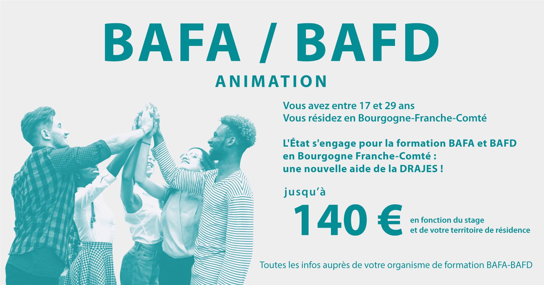 Nouvelles Aides BAFA/BAFD